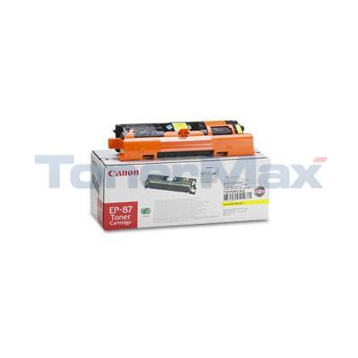 CANON EP-87 TONER CARTRIDGE YELLOW